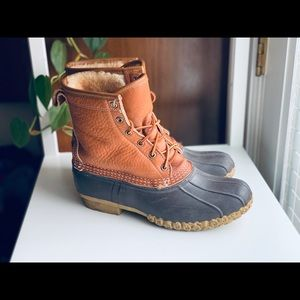 Shearling-lined Bean Boots from LL Bean